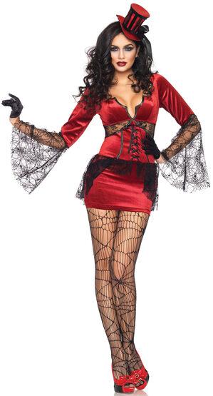 Sexy Womens Neck Biting Vampire Costume