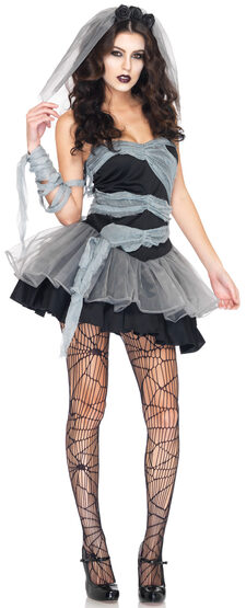 Dead and Buried Corpse Zombie Bride Adult Costume