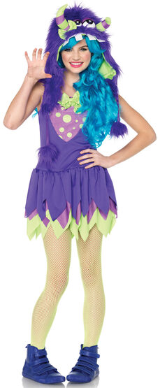 Teen Gerty Growler Monster Costume