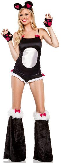 Sexy Bamboo Babe Panda Costume