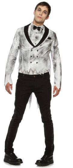 Mens Zombie Groom Adult Costume