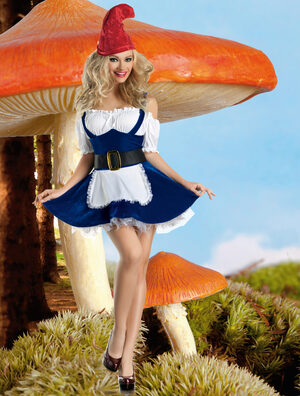 Sexy Traveling Gnome Fairy Costume