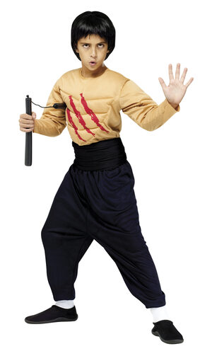 Kung Fu Master Ninja Kids Costume