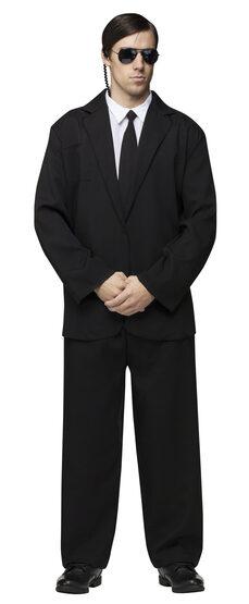 Black Suit Gangster Adult Costume