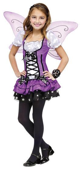 Girls Lilac Fairy Kids Costume