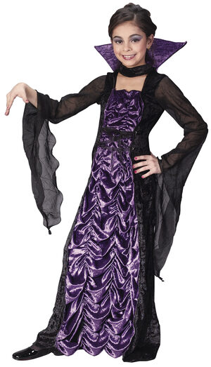 Countess of Darkness Vampire Kids Costume