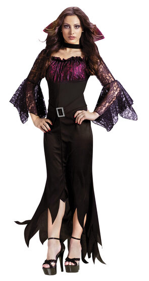 Womens Gothic Forever Vampire Adult Costume