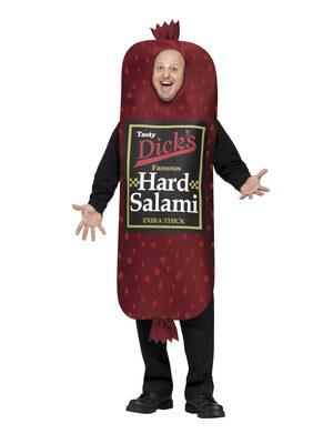 Funny Salami Food Adult Costume