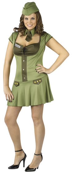 Major Trouble Army Plus Size Costume