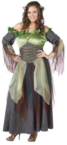 Mother Nature Renaissance Plus Size Costume