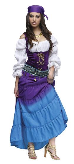 Womens Gypsy Moon Adult Costume