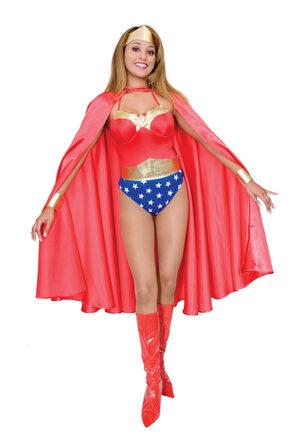 Sexy Wonder Woman Hero Costume