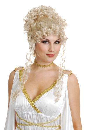 Athena Goddess Greek Wig