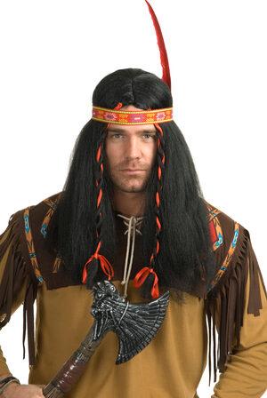 Running Bull Indian Wig