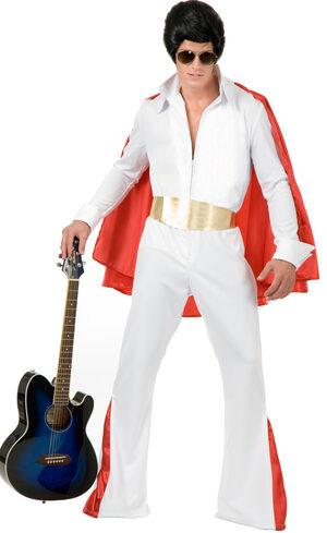 Rockstar King Elvis Adult Costume