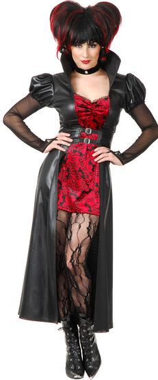Sexy Vampiress Queen Costume