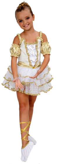 Girls Prima Ballerina Kids Costume