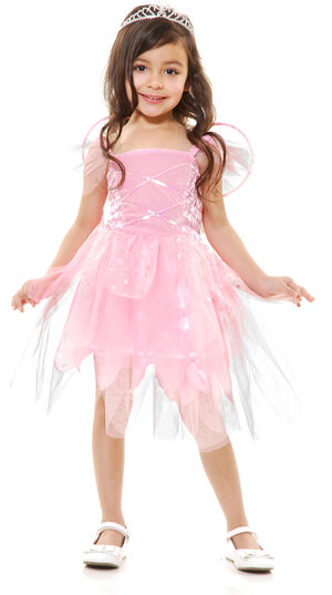 Pink Fairy Princess Kids Costume