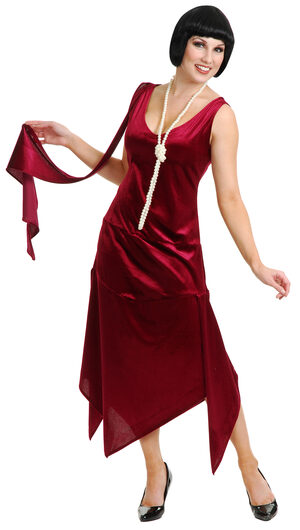 Sandy Speak Easy Flapper Adult Costume