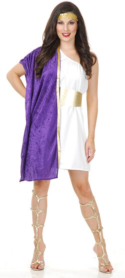 Sexy Greek Toga Costume