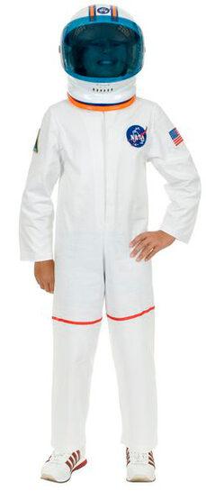 Boys Astronaut Space Suit Kids Costume