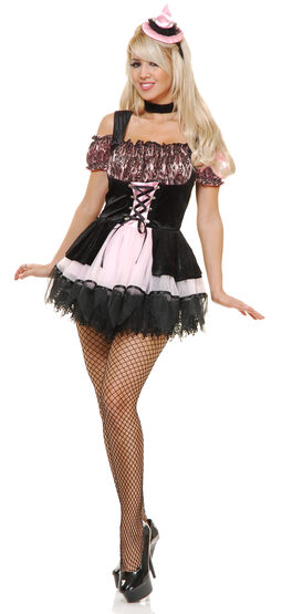 Sexy Pretty Pink Witch Costume
