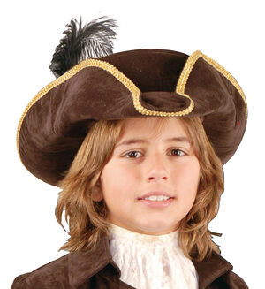 Boys Brown Pirate Hat