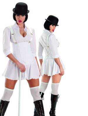 Sexy Clockwork Orange 70s Costume