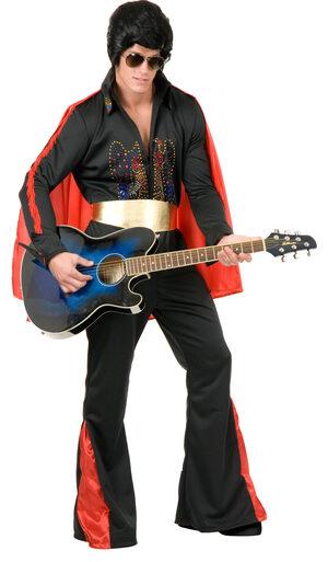 Rhinestone Rockstar Elvis Adult Costume