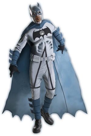 Mens Deluxe Zombie Batman Adult Costume