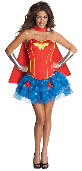 Sexy Wonder Woman Corest Tutu Costume