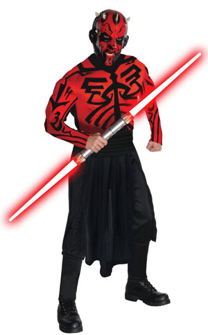 Muscle Chest Darth Maul Star Wars Adult Costume