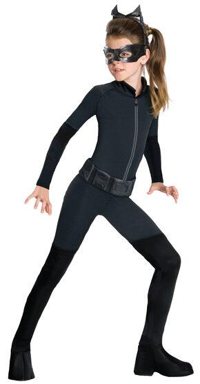 Girls Dark Knight Rises Catwoman Kids Costume