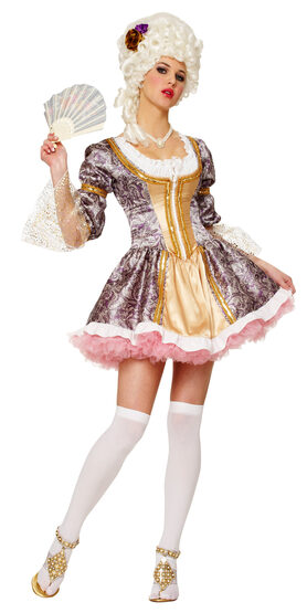 Sexy French Queen Marie Antoinette Costume