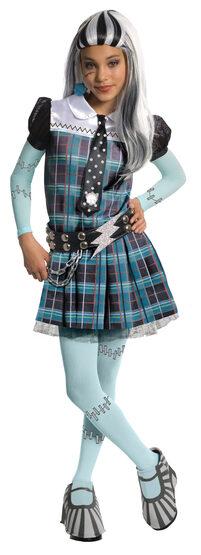 Deluxe Frankie Stein Monster High Kids Costume