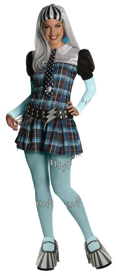 Deluxe Frankie Stein Monster High Adult Costume