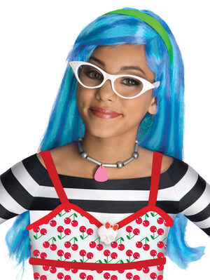 Girls Ghoulia Yelps Monster High Wig