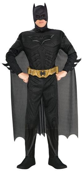Mens Deluxe Batman Superhero Adult Costume
