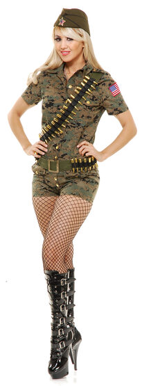 Sexy Lt Lovely Army Costume