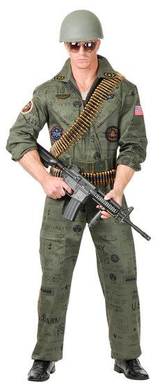 Top Gun Military Man Adult Costume