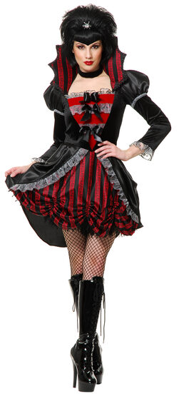 Sexy Victorian Gothic Vampire Costume