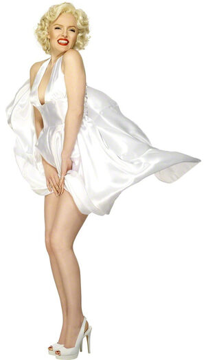 Sexy Halterneck Marilyn Monroe Costume