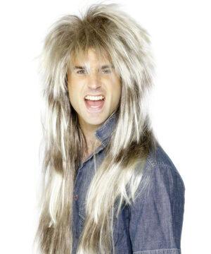 Rockstar 80s Hair Band Wig