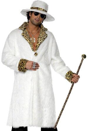 Leopard Print Pimp Adult Costume