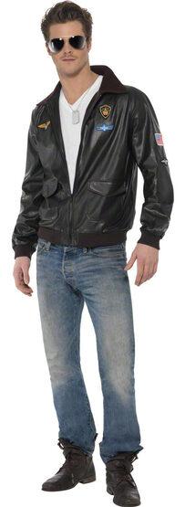 Top Gun Pilot Jacket Adult Costume