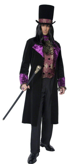 Gothic Vampire Count Adult Costume