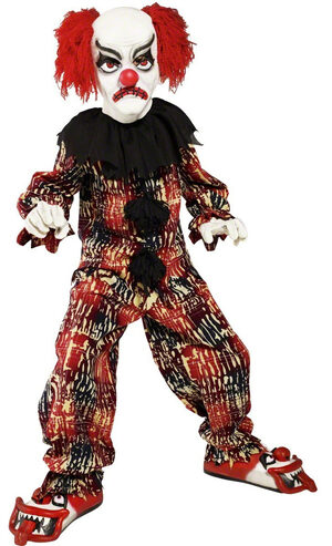 Boys Scary Clown Kids Costume