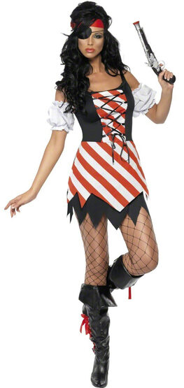 Sexy Lady Captain Pirate Wench Costume