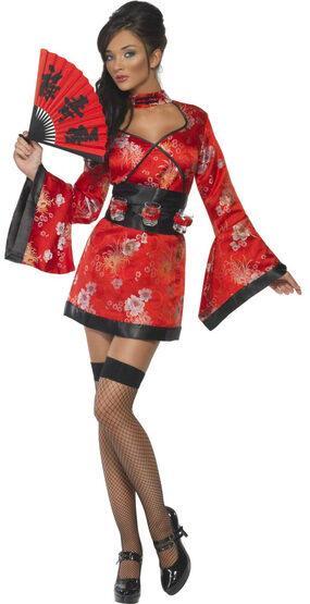 Sexy Fever Vodka Geisha Costume