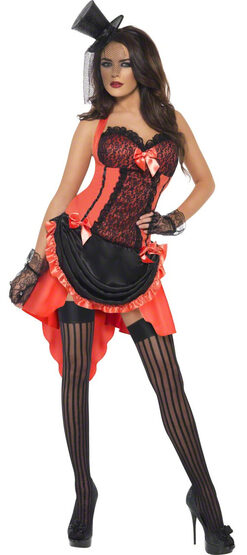 Sexy Madame Peaches Saloon Girl Costume